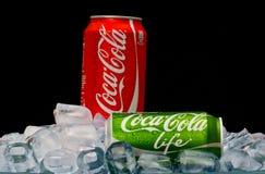 VIDA de la Coca-Cola Foto de archivo libre de regalías