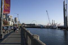 Vida de la costa de Seattle Imagen de archivo libre de regalías