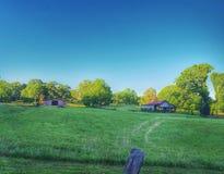 Vida de la granja de Kingston imagen de archivo libre de regalías