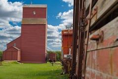 Vida de la granja de la pradera Foto de archivo libre de regalías
