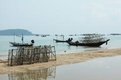 Vida de la industria pesquera Foto de archivo