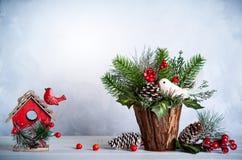 Vida de la Navidad y todavía del Año Nuevo Imagen de archivo libre de regalías