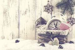 Vida de la Navidad y todavía del Año Nuevo Imagen de archivo
