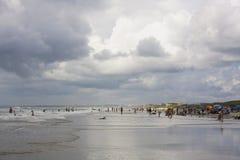Vida de la playa de Océano Atlántico Imagenes de archivo
