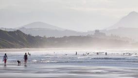 Vida de la playa y estilo de vida Fotos de archivo