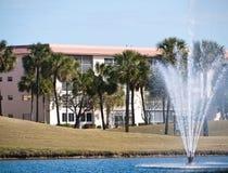 Vida de la propiedad horizontal en la Florida del sur Fotos de archivo