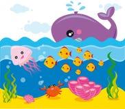 Vida de mar ilustração do vetor