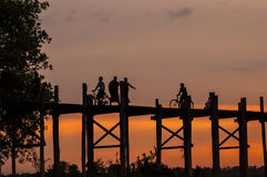 Vida de Myanmar Fotos de archivo