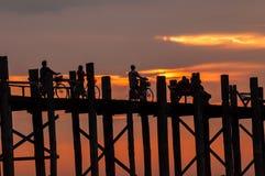 Vida de Myanmar Foto de archivo libre de regalías