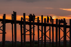 Vida de Myanmar Imagenes de archivo