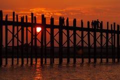 Vida de Myanmar Fotos de archivo libres de regalías