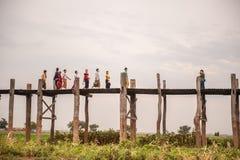 Vida de Myanmar Imágenes de archivo libres de regalías