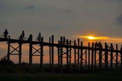 Vida de Myanmar Foto de archivo