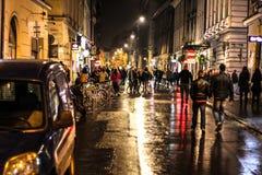 Vida de noche fotografía de archivo libre de regalías
