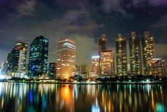 Vida de noche de Bangkok Imagen de archivo libre de regalías