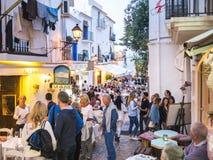 Vida de noche de Ibiza Imagen de archivo