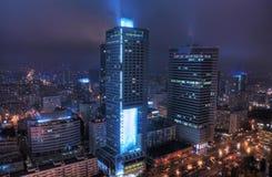 Vida de noche de la ciudad Fotos de archivo