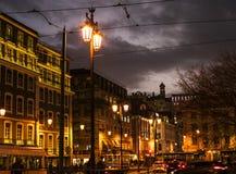 Vida de noche en Lisboa Foto de archivo