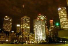 Vida de noite de Toronto fotos de stock royalty free