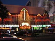 Vida de noite em Vegas Fotos de Stock