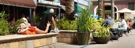 Vida de rua do verão Fotografia de Stock Royalty Free