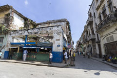 Vida de rua em Havana Fotos de Stock Royalty Free