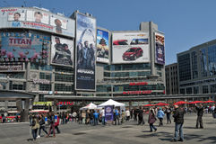 Vida de rua em Toronto Imagem de Stock Royalty Free