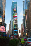 A vida de rua esquadra às vezes em New York, EUA Imagem de Stock