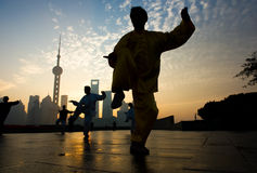 Vida de Shanghai Imagem de Stock