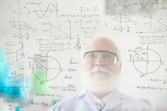 Vida dedicada a la ciencia Fotografía de archivo libre de regalías