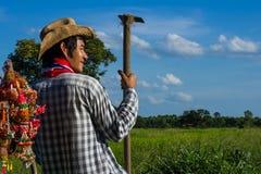 vida del granjero fotos de archivo