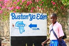 Vida del Kenyan fotografía de archivo