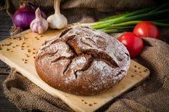 Vida del pan y todavía de los begetables Fotos de archivo