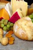 Vida del pan y todavía del queso Foto de archivo libre de regalías
