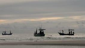 Vida del pescador almacen de metraje de vídeo