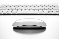 Vida del teclado y todavía del ratón de ordenador Fotografía de archivo
