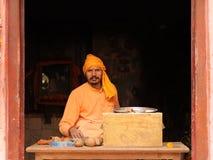 Vida diaria en la India Imagenes de archivo