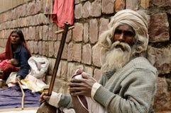 Vida diaria en la India Fotografía de archivo