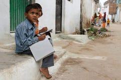 Vida diaria en la India Foto de archivo libre de regalías