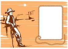 Vida do cowboy Foto de Stock