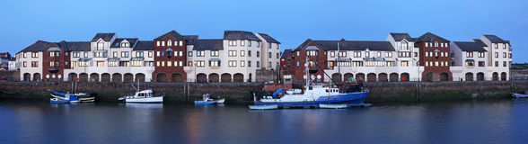 Vida do Dockside Fotos de Stock Royalty Free