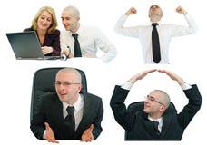 Vida do escritório Imagens de Stock Royalty Free
