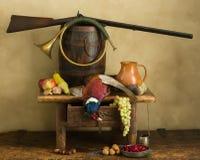 Vida do faisão e da lebre ainda Foto de Stock Royalty Free