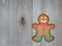 A vida do Natal ainda com as cookies tradicionais do pão-de-espécie corteja sobre Imagens de Stock Royalty Free