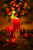 Vida doméstica acogedora de la Navidad aún Fotos de archivo