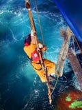 Vida dura del marinero Fotografía de archivo