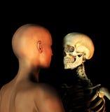 Vida e morte Fotografia de Stock Royalty Free
