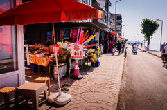Vida em uma cidade turca pequena Fotos de Stock Royalty Free