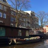 Vida en Amsterdam Foto de archivo libre de regalías
