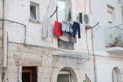 Vida en Bari Foto de archivo libre de regalías